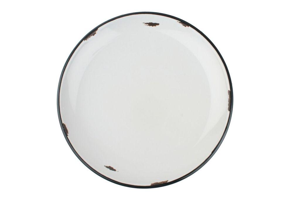Онлайн каталог PROMENU: Тарелка с черной окантовкой Canvas Home Tinware, диаметр 28 см, голубой                               C28-DP-CB