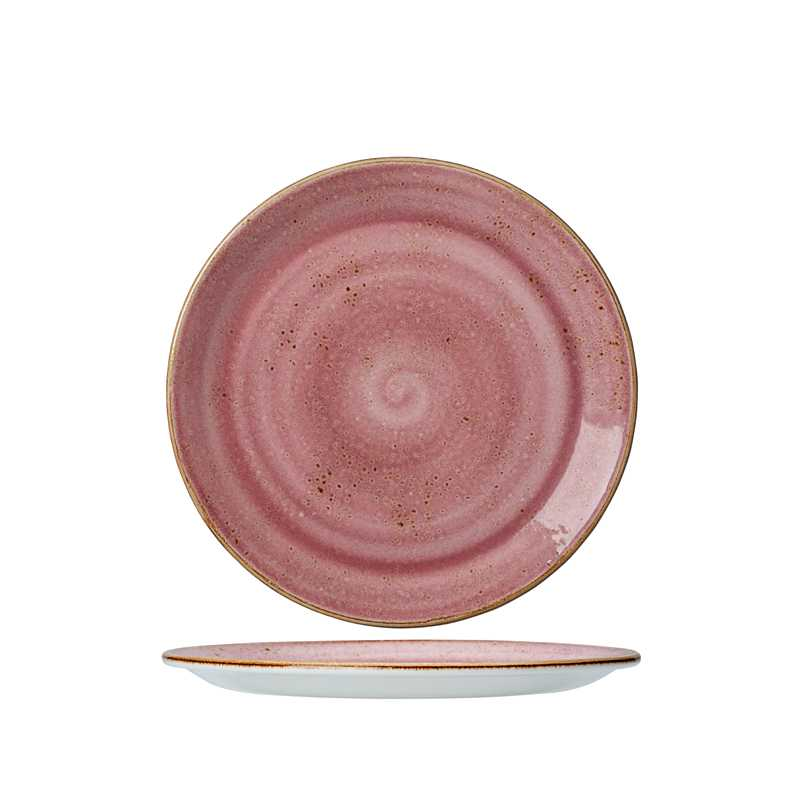 Онлайн каталог PROMENU: Тарелка фарфоровая Steelite CRAFT RASPBERRY, диаметр 30 см, розовый