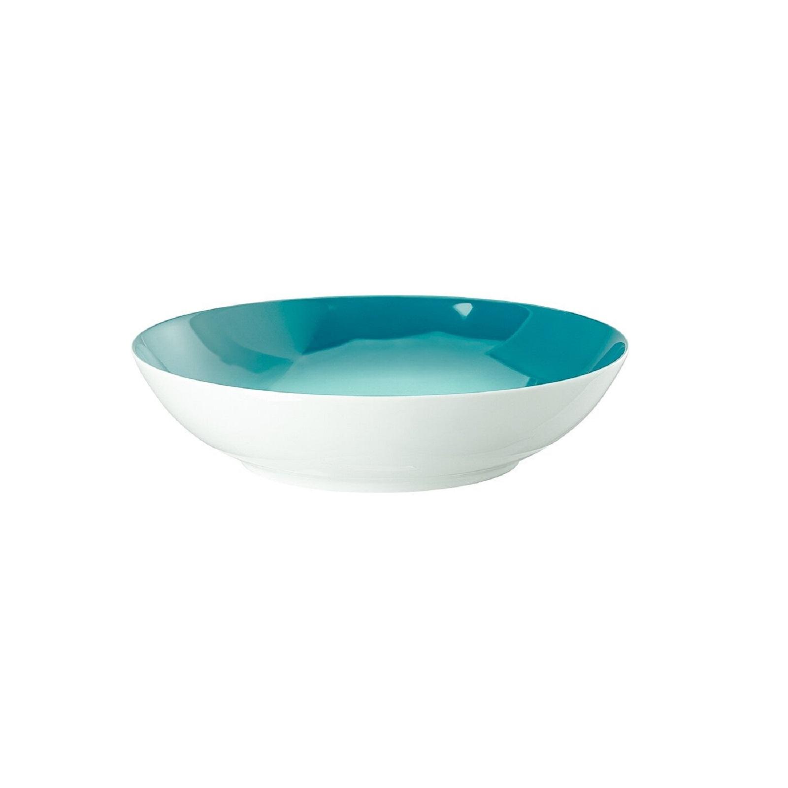 Тарелка глубокая фарфоровая Rosenthal Thomas BECOLOUR, диаметр 22 см, синий Rosenthal 10700-408729-10322 фото 1