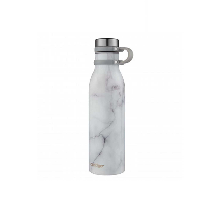 Онлайн каталог PROMENU: Бутылка спортивная Contigo MATTERHORNE COUTURE White Marble, объем 0,59 л, белый с рисунком Contigo 2104548