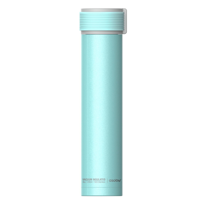 Онлайн каталог PROMENU: Термобутылка Asobu SKINNY MINI, объем 0,23 л, голубой                                   SBV20 TEAL