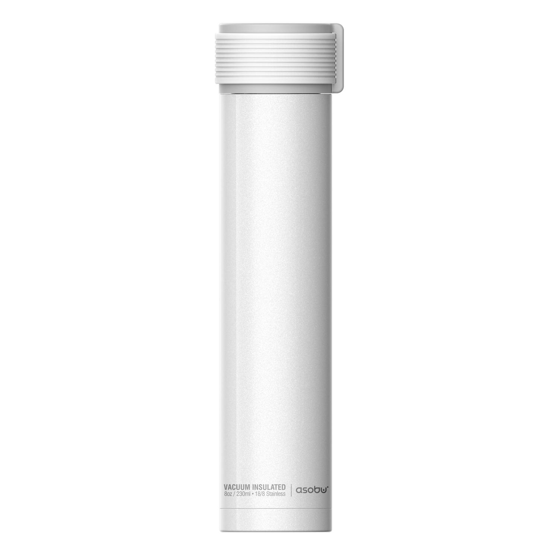 Онлайн каталог PROMENU: Термобутылка Asobu SKINNY MINI, объем 0,23 л, белый                                   SBV20 WHITE