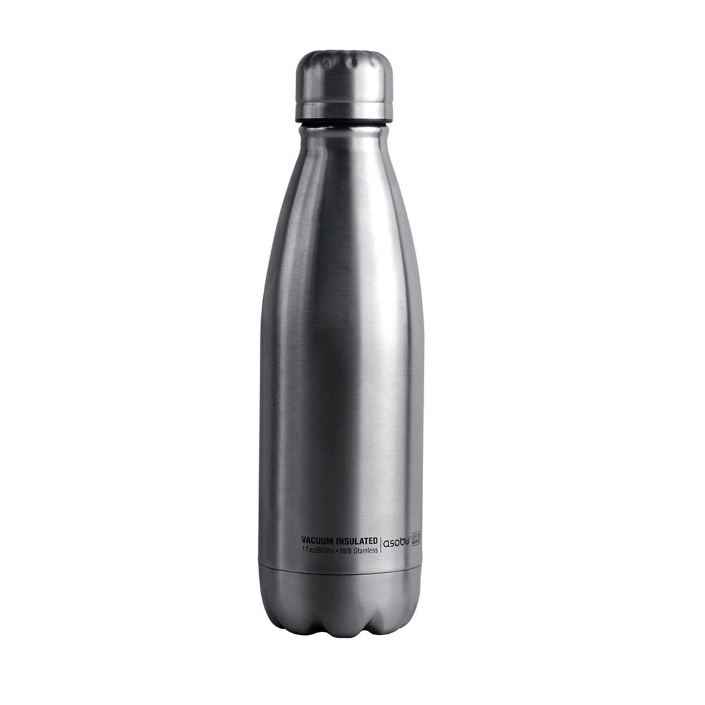 Онлайн каталог PROMENU: Термобутылка Asobu CENTRAL PARK, 0,51 л, серебристый                                   SBV17 SILVER