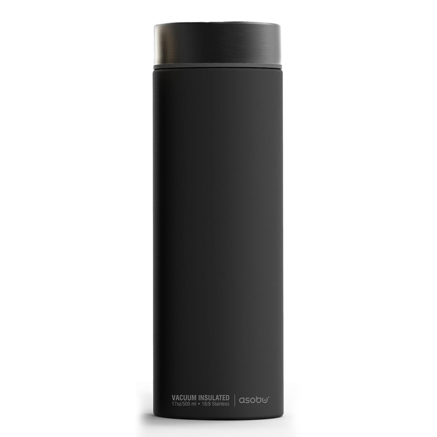 Онлайн каталог PROMENU: Термос Asobu LE BATON, 0,5 л, темно-серый Asobu LB17 SMOKE