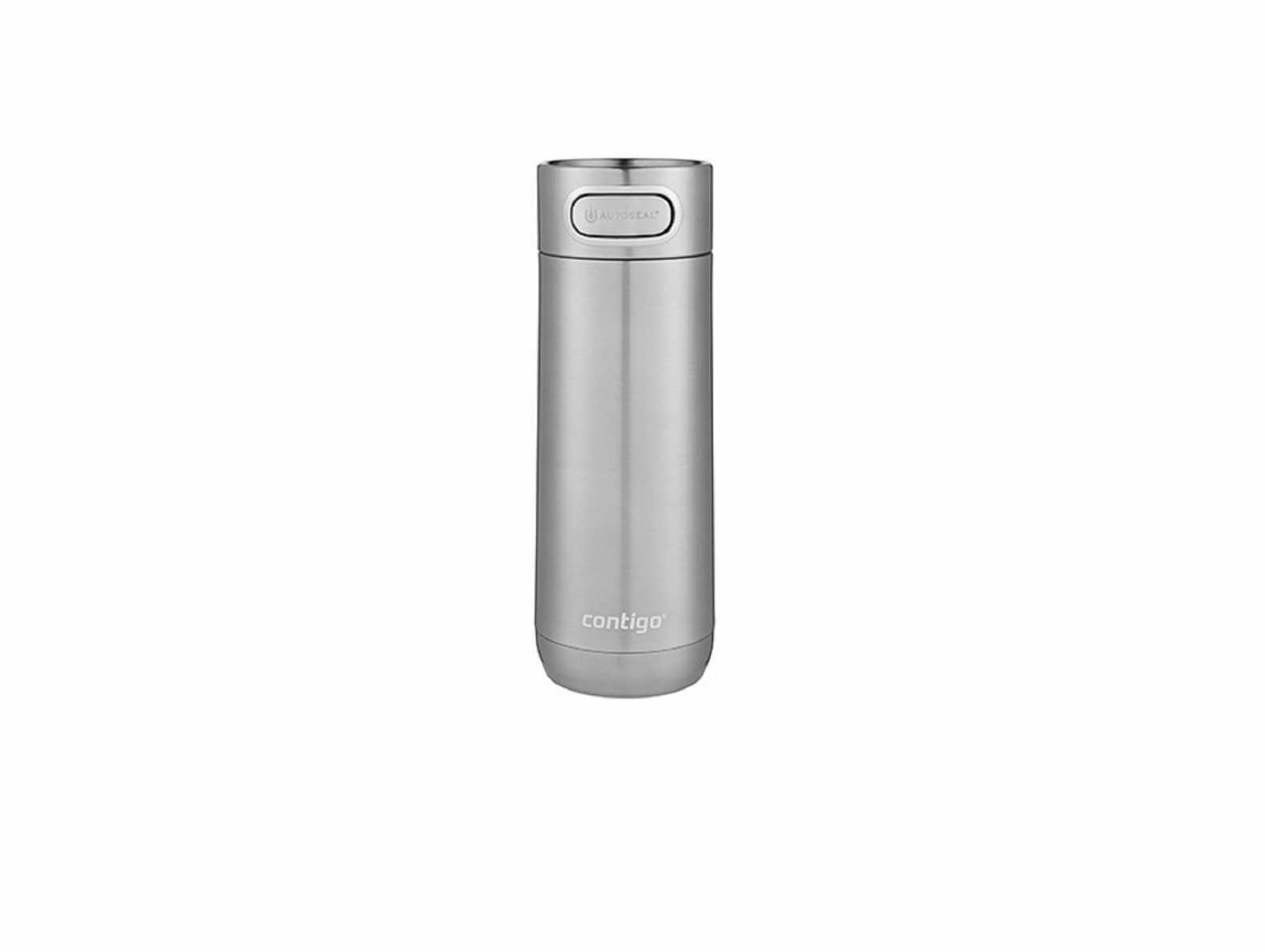 Онлайн каталог PROMENU: Термостакан Contigo LUXE Stainless Steel, объем 0,36 л, серебристый Contigo 2104367
