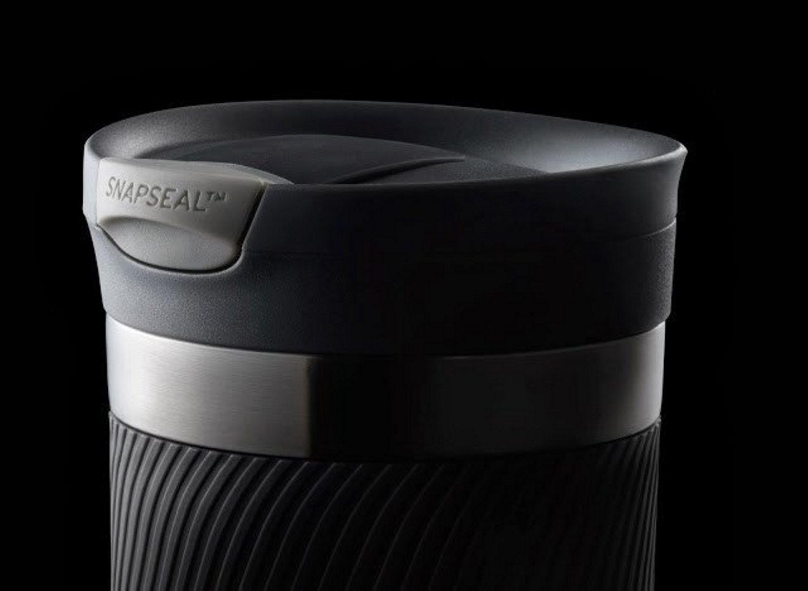 Термостакан Contigo BYRON 16, объем 0,47 л, серебристый с черным Contigo 2095558 фото 7