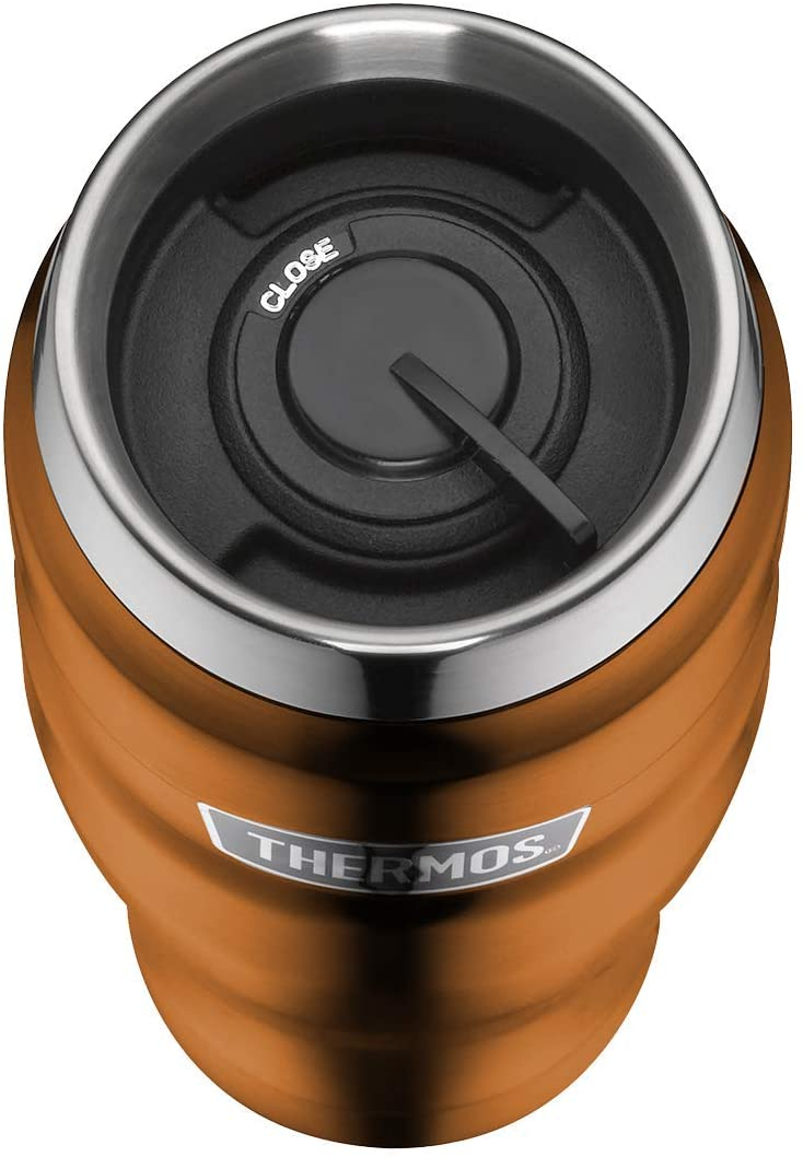 Термокружка Thermos Isolierbecher Stainless King copper, объем 0,47 л, цвет  медный Thermos 4002.215.047 фото 1