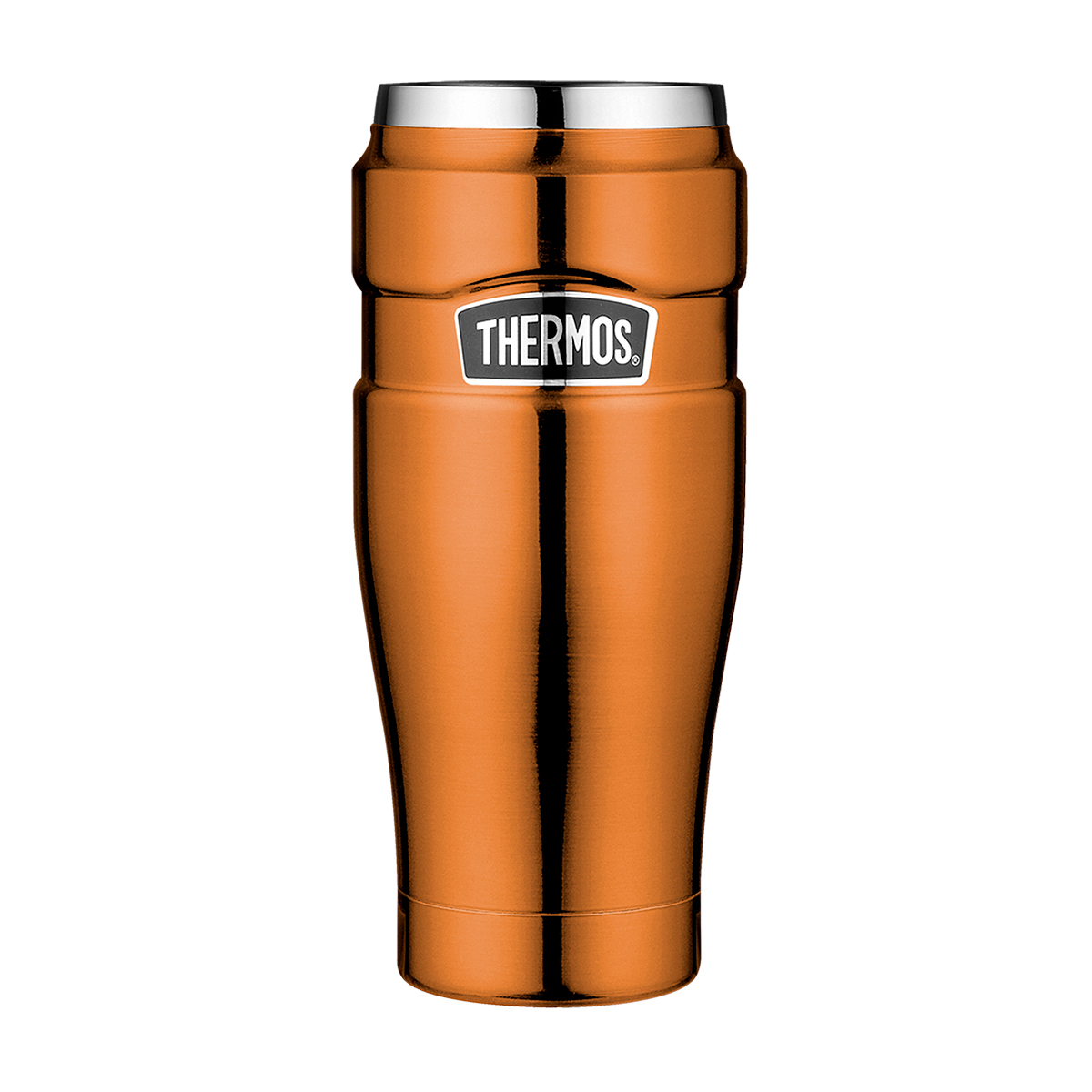 Онлайн каталог PROMENU: Термокружка Thermos Isolierbecher Stainless King copper, объем 0,47 л, цвет  медный Thermos 4002.215.047