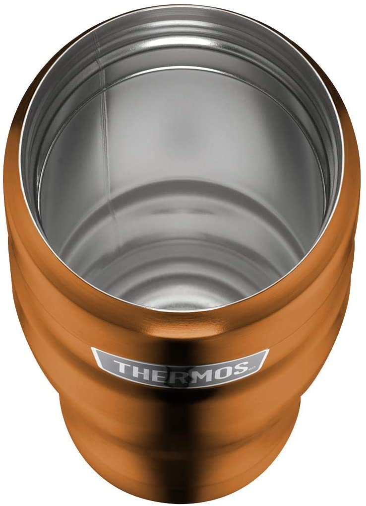 Термокружка Thermos Isolierbecher Stainless King copper, объем 0,47 л, цвет  медный Thermos 4002.215.047 фото 2