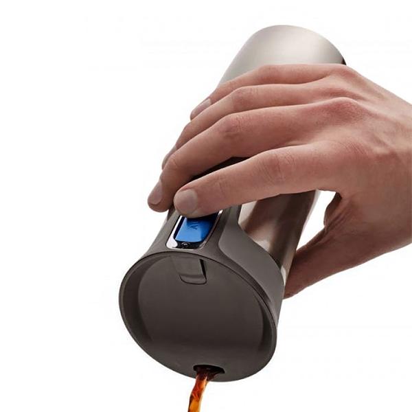 Термостакан Contigo WEST LOOP, объем 0,47 л, серый Contigo 1000-0007 фото 3