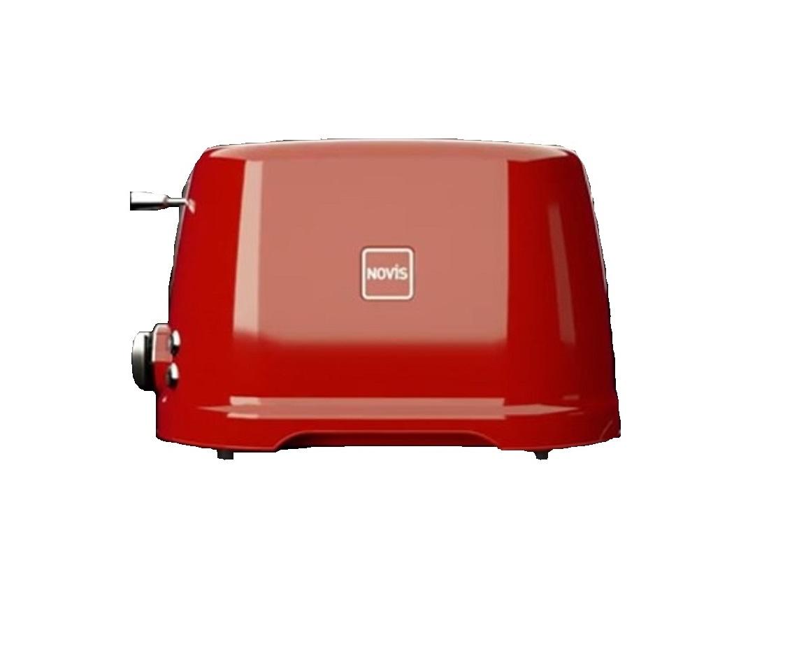 Онлайн каталог PROMENU: Тостер T2 с 4 функциями на 2 ломтика Novis, красный                               6115.02.20