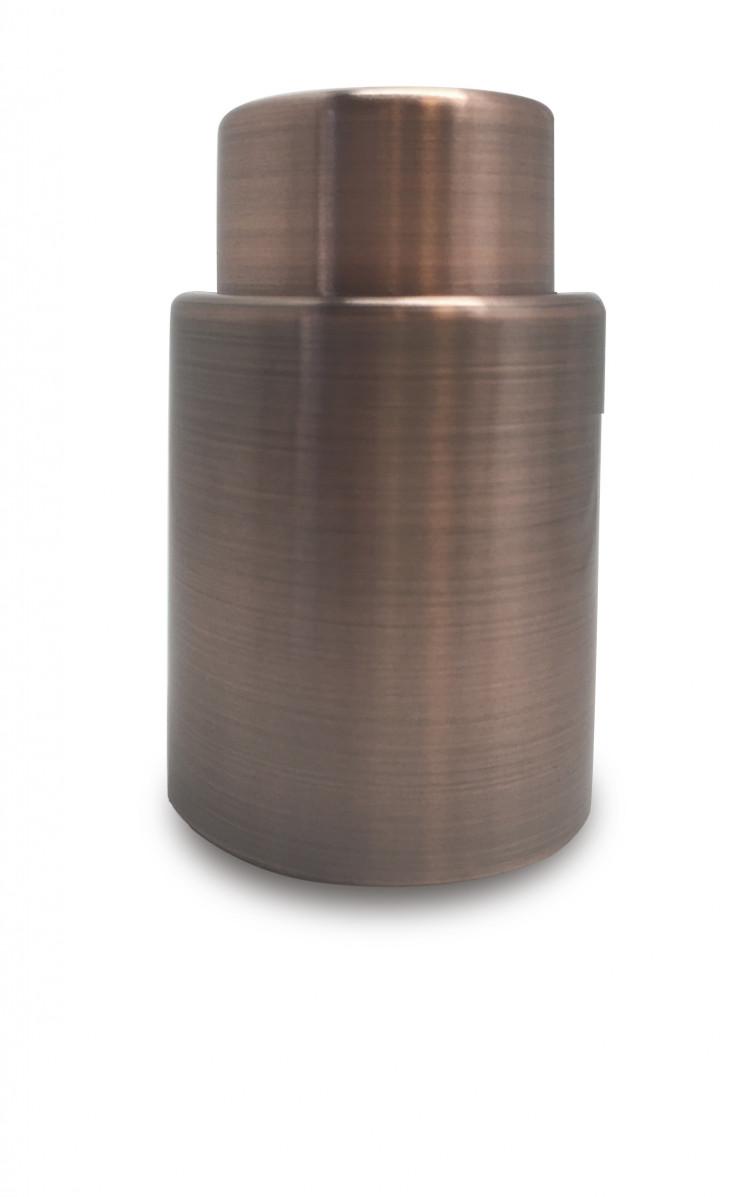 Онлайн каталог PROMENU: Вакуумная винная пробка-насос Vin Bouquet VINTAGE, 7,5х4,5х4,5 см, медный                               FIV 106