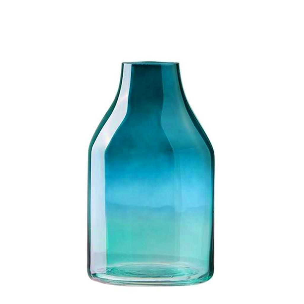 Онлайн каталог PROMENU: Ваза стеклянная Aida DESIGN GLASS, высота 22 см, зеленая                               31940