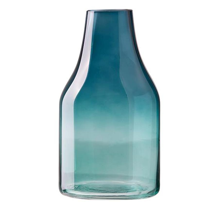 Онлайн каталог PROMENU: Ваза стеклянная Aida DESIGN GLASS, высота 27 см, зеленая                               31931