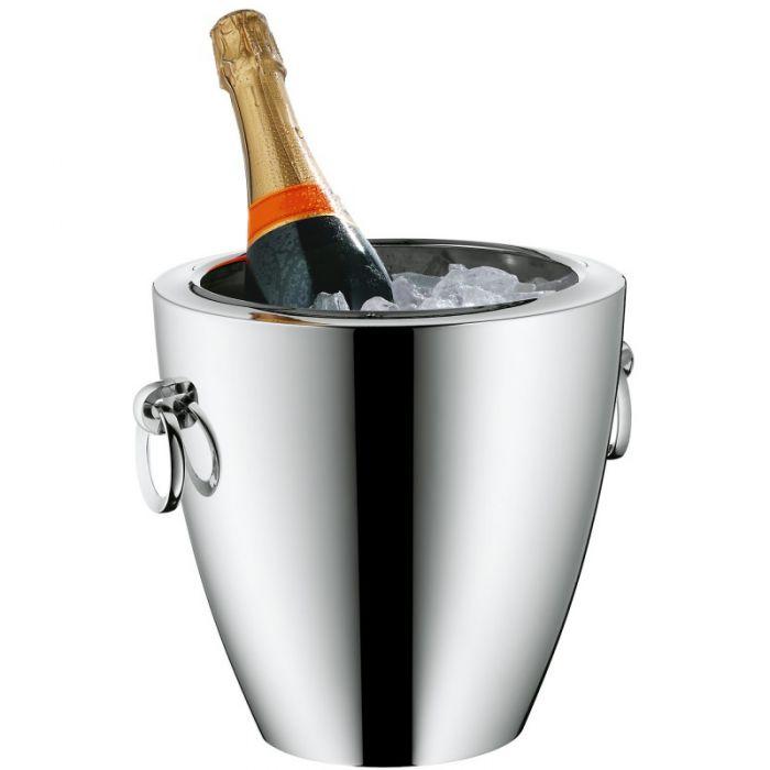 Ведро для охлаждения шампанского WMF JETTE, серебристый WMF 06 8391 6040 фото 1