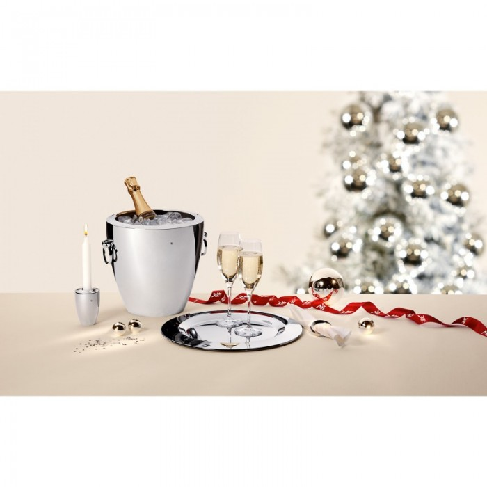 Ведро для охлаждения шампанского WMF JETTE, серебристый WMF 06 8391 6040 фото 2