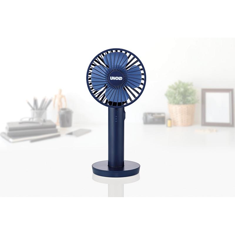 Ручной вентилятор Unold HANDHELD FAN Breezy, высота 20,5 см, синий Unold 86628 фото 7