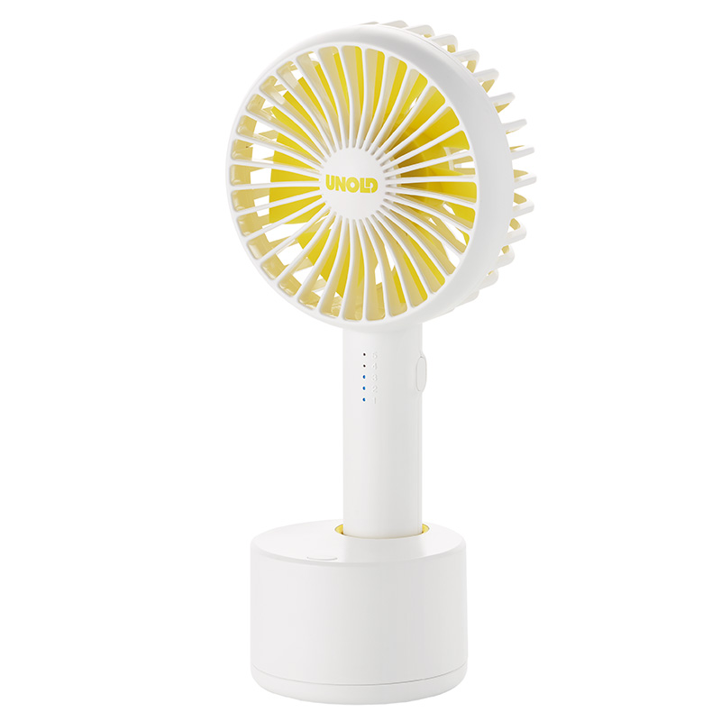 Ручной вентилятор Unold HANDHELD FAN Breezy Swing, высота 21,2 см, белый Unold 86630 фото 1