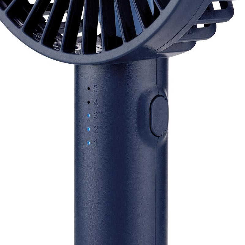 Ручной вентилятор Unold HANDHELD FAN Breezy, высота 20,5 см, синий Unold 86628 фото 3