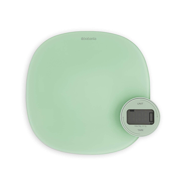 Онлайн каталог PROMENU: Весы кухонные сенсорные Brabantia, от 1 до 5 кг, светло-зеленый                               122903